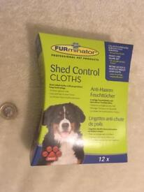 Furminator shed control cloth ( 12 pieces)