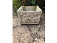 Stone / Concrete Ornate Garden Planters
