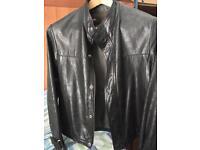 Diesel leather jacket 100% original