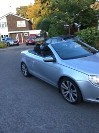 2010 VW EOS 2.0 TDI 140 BRAKE 6 SPEED MANUAL LOW MILES HARD TOP CONVERTIBLE WITH PANARAMIC SUNROOF