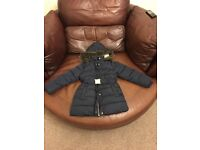 Marks and Spencer's Navy Blue Coat