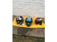 Adults motorbike helmets all brand new