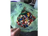 1 kg mixed Lego pieces