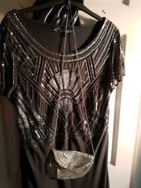 Brand new size 20 beaded dress