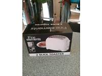 Brand New and Boxed Two Slice Toaster