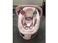 Baby girl bouncer in excellent condition
