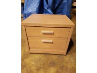 ONE Bedside table with 2 drawers perfect condition