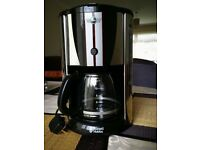 Almost new Russell Hobbs Coffee filter machine.