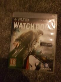 Watchdogs PS3 used