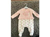 Brand new newborn baby outfit