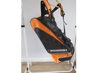 Squash tournament bag by UNSQUASHABLE as new condition