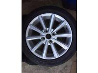 """16"""" 2015 Ford Fiesta Alloys"""
