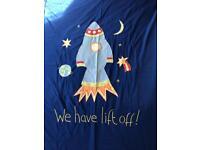NEXT spaceship double duvet cover