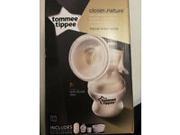Tommee Tippee brand new manual breast pump Closer to Nature