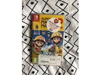 Nintendo switch Mario maker
