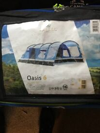 High Gear Oasis 6 tent brand new