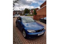 BMW 1 series blue 1.6 petrol manual 2005 for sale