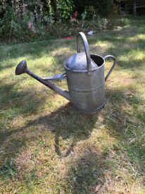 1950's Vintage Galvanised Watering Can