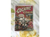 RIP SNORTIN #1 1975 Cocaine Comix original