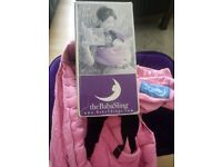 TheBabaSling Pink Clasic Carry Carrier