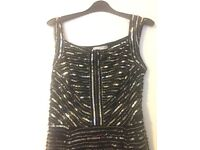 Gina Bacconi blue sequinned dress- BRAND NEW