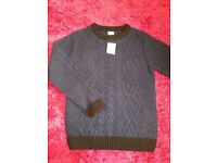 Boys age 8-9 BRAND NEW knitted jumper