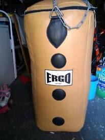 Ergo sport quilted punch bag