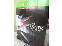 WITCHER 3 COLLECTORS EDITION XBOX ONE NEW NEW NEW / PAY PAL.