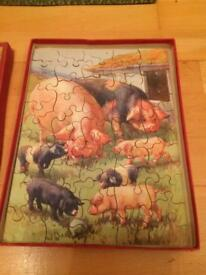 Chad valley pig jigsaw