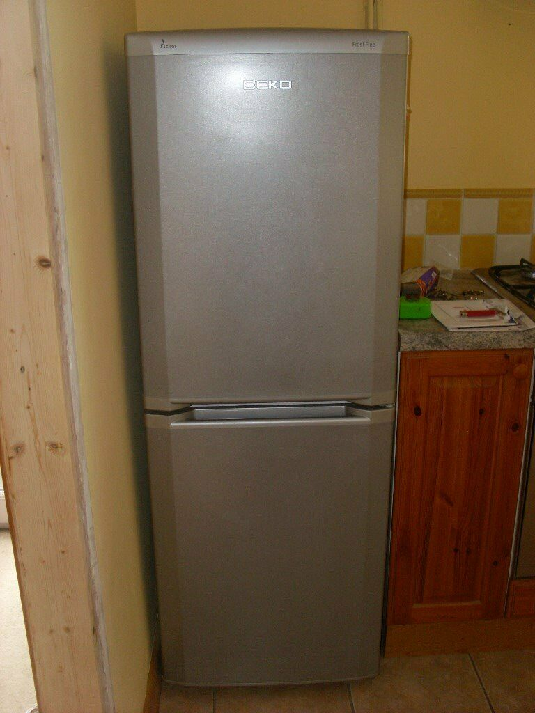 Beko Silver Frost Free Fridge Freezer In Port Talbot