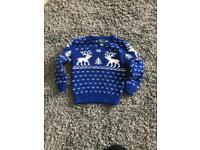 Child's Ralph Lauren Christmas jumper