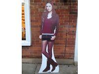 Amy Pond life size cardboard cut out Karen Gillan Dr Who