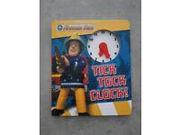 Fireman Sam Tick Tock Book