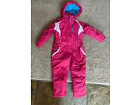 No Fear snow suit 5-6yrs