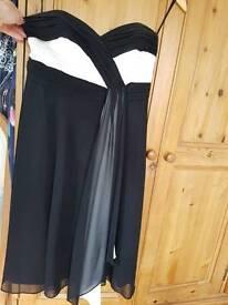 Debut black/cream Dress