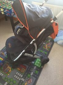 Dimples pushchair