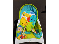 Used Fisher-Price Infant-to-Toddler Rocker, Baby Bouncer Chair and Rocker.