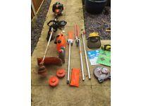 timberpro 5 in 1 muti tool strimmer/hedgecutter