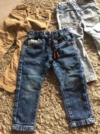 Boys jeans/ chinos from Next