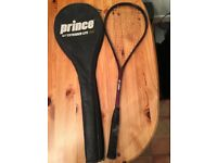 Squash Racket and Cover Prince Extender Lite 190 CF363751