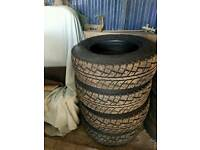 All terrain tyres SOLD