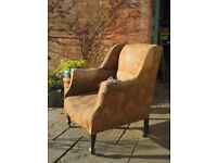 2 Vintage (Antique) Chairs - Upholstery Project