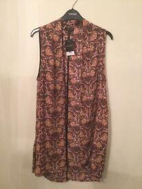 New Top Shop print waistcoat!