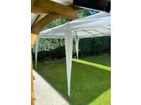 Large 6x3 pop up gazebo- wedding,garden party - condition as new