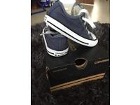 Converse all star size 7 shoes trainers baby
