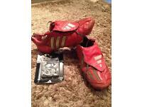 Red Adidas Predator Mania SG UK9