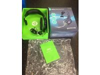 NEW BOXED XBOX 360 HEADPHONES BUILT-IN MICROPHONE MIC GAMING HEAD SET GIOTECK MONO CHAT CAN DELIVER