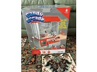 Candy Arcade kids Sweety Grabber Machine Boxed