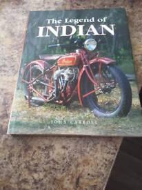 The legend of INDIAN hardback book