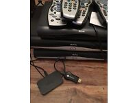 Sky Hd+ boxes and remotes
